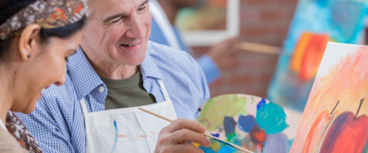 Benefits of Art Therapy for Senior Citizens In Assisted Living